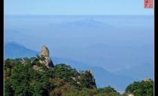 黄山——飞来石图片