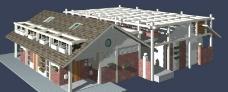 3D室外模型图片
