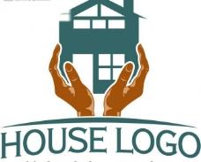 房子logo模板图片