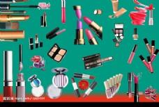 化妆品集合psd素材