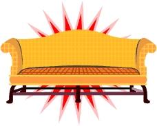 沙发与灯0136