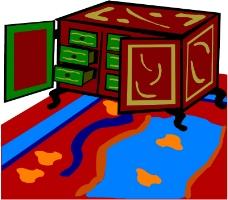 沙发与灯0081