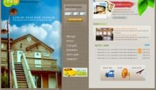 韩国网站psd模版图片