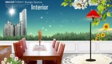 家居生活房产广告素材图片