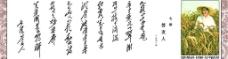毛泽东诗词3图片