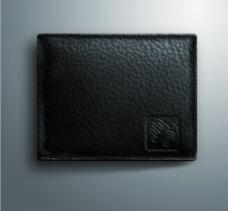 鼠绘皮质钱包图片