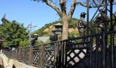 雕像景观图片