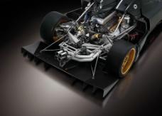 Zonda R 跑車引擎圖片