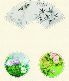中国油墨画图片