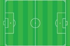 足球场矢量素材图片