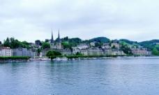 城镇风光图片