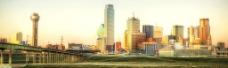 现代金黄城市图片