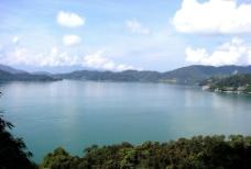 湖光美景图片