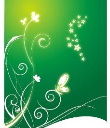 春绿色图片