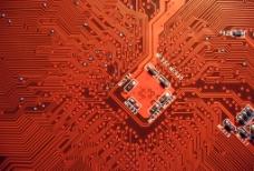 高清电脑线路板图片