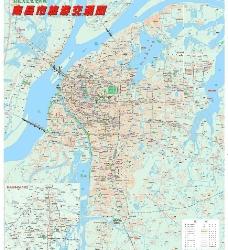 南昌城区图图片
