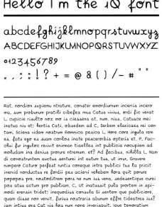 MAC系统丰田IQ字体