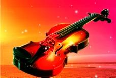 小提琴背景图片