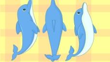 卡通海豚圖片