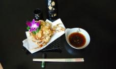 软壳蟹天妇罗图片