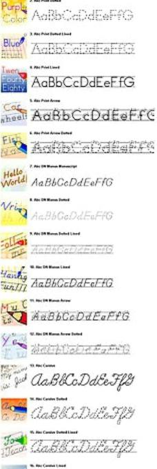 31款教师专用英文字体