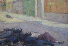街头被屠杀的公社社员图片