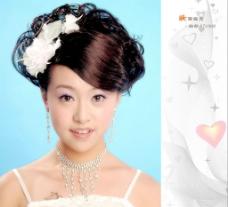 化妆 妆面 婚纱美女18图片