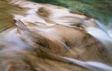 溪水 瀑布 涌泉 流水图片