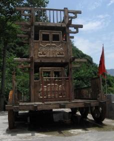 三峡人家——古战车图片
