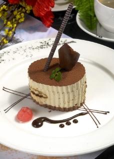 意大利香酪咖啡蛋糕图片