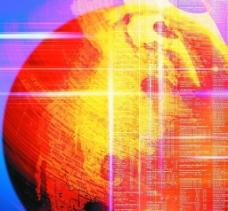 數碼地球圖片