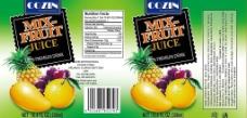 出口型饮料标图片