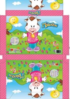 卡通羊包装盒图片