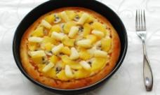 水果缤纷比萨图片