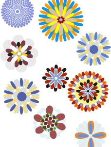 花  底纹 花纹图片