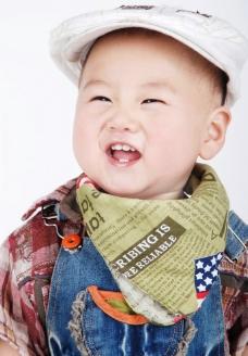 宝宝的大笑图片