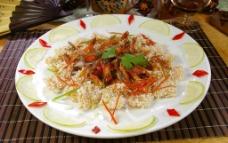 柠檬凤尾虾图片