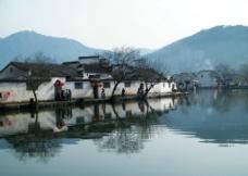 宏村美景图片