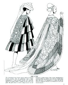 欧洲贵族素描图片