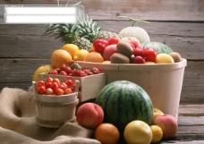 夏天最爱-各式各样水果