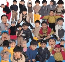 儿童秋装图片