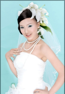 白纱美女35图片