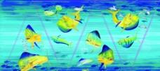 海底世界太阳伞图片