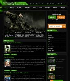 游戲網站設計源文件圖片