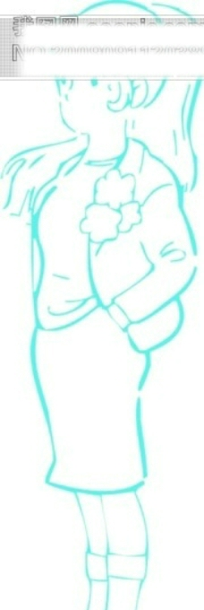 漫画成年女性矢量图14