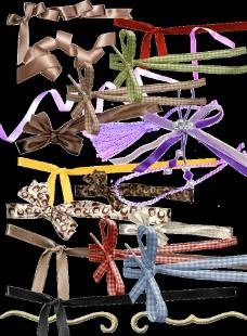 各類蝴蝶形包裝帶圖片