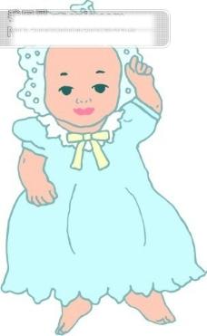 婴儿宝宝矢量图6