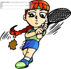 网球比赛矢量图11