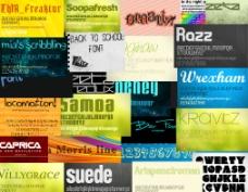 精选35款国外设计用字体