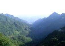 红池坝群山图片